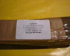 bulb kit 95 to 99