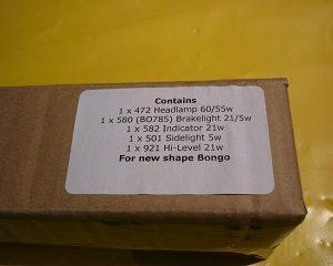 bulb kit 99 to 06